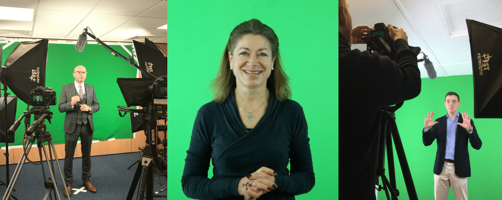 Green screen video production examples from GingerVideo