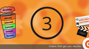 Step 3 of Video Sales Funnel