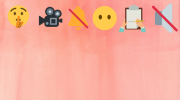 Range of quiet emojis and icons