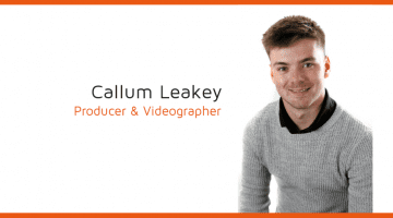 Callum Leakey Producer & Videographer