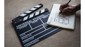 Laptop and Clapperboard